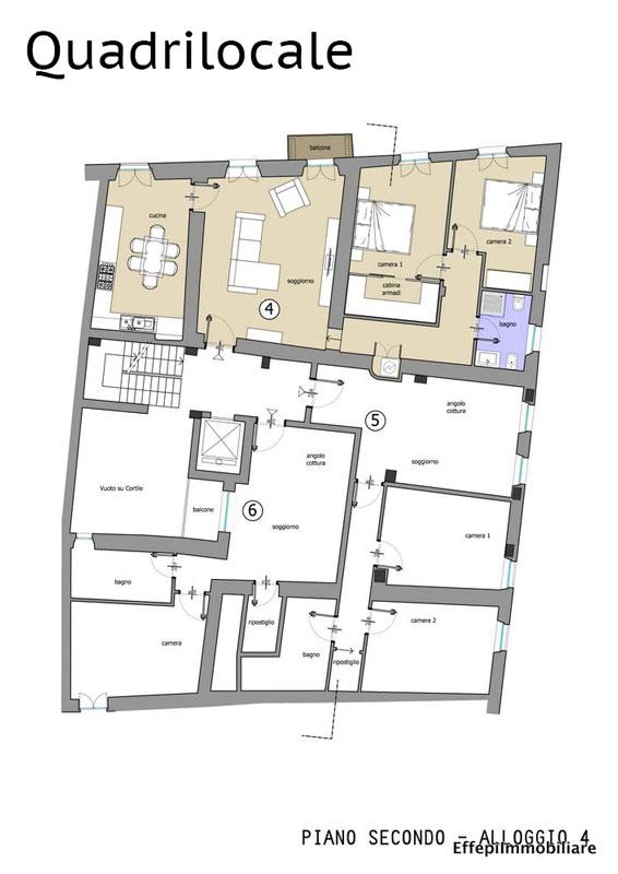 Mondov breo centro storico appartamenti ristrutturati for 2 piani piano cabina storia